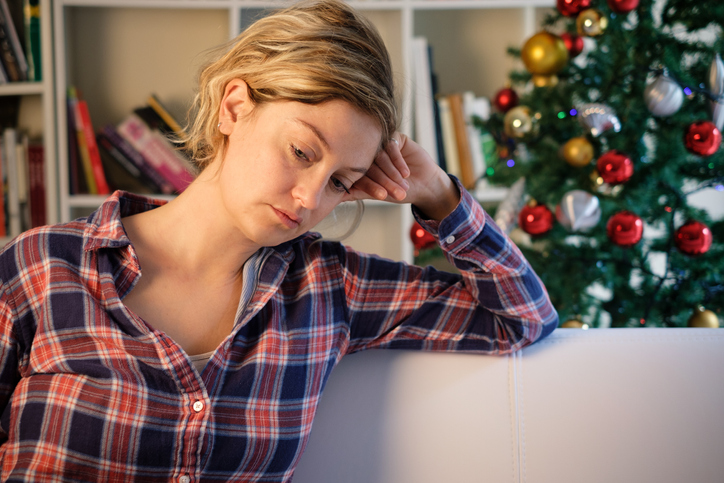 woman suffering from seasonal depression